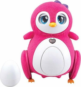 Penbo Interactive Robot Lovable PINK Penguin [1 Bebe Surprise Egg & Eggshell]