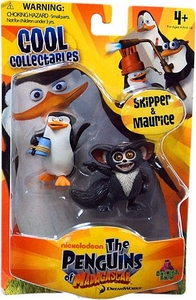Penguins of Madagascar Mini Figure 2-Pack Skipper & Maurice