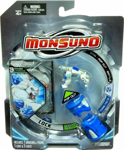 Monsuno Single Pack #01B Lock Version 2 {Core-Tech} [1 Figure, 1 Core & 3 Cards]