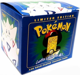 Pokemon 23K Gold-Plated Trading Card Togepi
