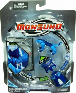 Monsuno Single Pack #14 Longfang {Core-Tech} [1 Figure, 1 Core & 3 Cards] BLOWOUT SALE!