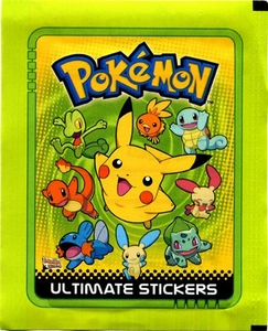 Pokemon Ultimate Sticker Collection Pack [5 Stickers]