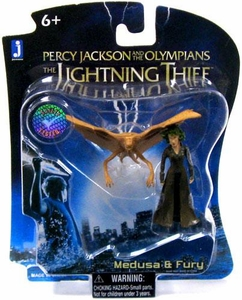 Percy Jackson & The Olympians: The Lightning Thief Micro Figure 2-Pack Medusa & Fury
