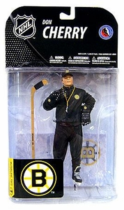 McFarlane Toys NHL Sports Picks Series 19 Action Figure Don Cherry (Boston Bruins)
