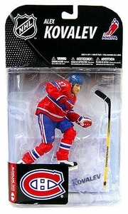 McFarlane Toys NHL Sports Picks Series 19 Action Figure Alexei Kovalev (Montreal Canadiens)