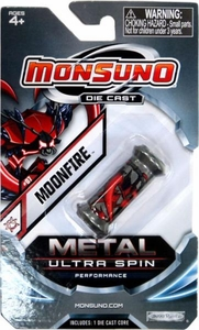 Monsuno Die Cast Metal Ultra Spin Core #07 Moonfire {Eklipse}