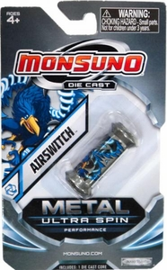 Monsuno Die Cast Metal Ultra Spin Core #19 Airswitch {Core-Tech}