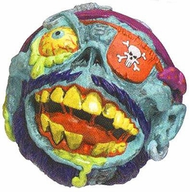 Madballs Classic Series 2 Mad Ball Blech Beard