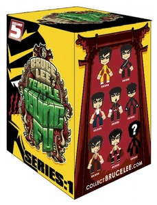 Round 5 Bruce Lee Temple of Kung Fu MAD Toy Designs Blind Mystery Pack [1 RANDOM Figure!]