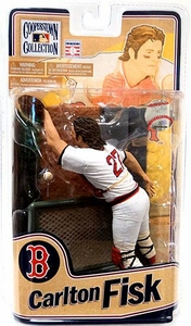 McFarlane Toys MLB Cooperstown Series 8 Action Figure Carlton Fisk (Boston Red Sox)