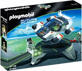 Playmobil Future Planet Set #5150 E-Rangers Turbojet with Launch Pad