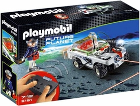 Playmobil Future Planet Set #5151 Explorer Quad with IR Knockout Cannon