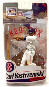 McFarlane Toys MLB Cooperstown Series 7 Action Figure Carl Yastrzemski (Boston Red Sox White Jersey