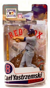 McFarlane Toys MLB Cooperstown Series 7 Action Figure Carl Yastrzemski (Boston Red Sox) Grey Jersey Variant