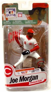 McFarlane Toys MLB Cooperstown Series 7 Action Figure Joe Morgan (Cincinnati Reds) White Jersey