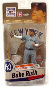 McFarlane Toys MLB Cooperstown Series 7 Action Figure Babe Ruth (New York Yankees)