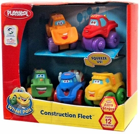 Playskool Wheel Pals Construction Fleet