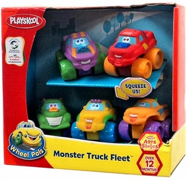Playskool Wheel Pals Monster Truck Fleet