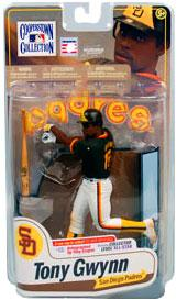McFarlane Toys MLB Cooperstown Series 7 Action Figure Tony Gwynn (San Diego Padres) All Star Signature Collector Chase Only 100 Made!