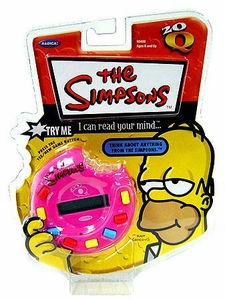 Radica Handheld Game Simpsons 20Q [20 Questions]