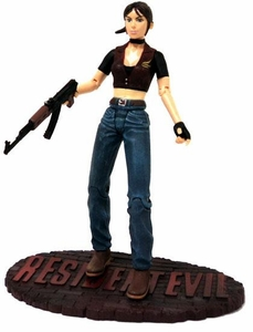 Resident Evil Palisades Toys LOOSE Action Figure Claire Redfield