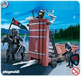 Playmobil Knights Set #4869 Falcon Knights' Battering Ram