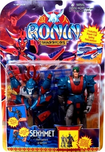 Ronin Warriors Action Figure Dark Warlord of Venom Sekhmet RARE!