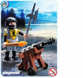 Playmobil Knights Set #4870 Lion Knight Cannon Guard