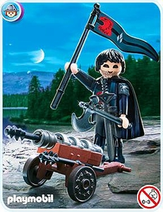 Playmobil Knights Set #4872 Falcon Knight Cannon Guard