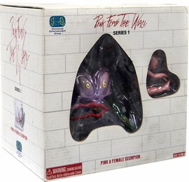 S.E.G Vinyl Figure Pink Floyd The Wall Pink & Female Scorpion