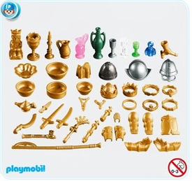 Playmobil Knights Set #7371 Knights Castle Treasure
