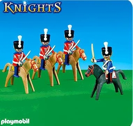 Playmobil Knights Set #6305 Guards on Horseback