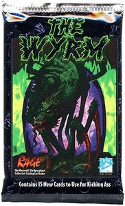 Rage Trading Card Game The Wyrm Booster Pack [15 Cards]
