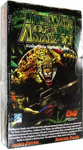 Rage Trading Card Game The War of the Amazon Booster Box [24 Packs]