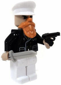 COBI Blocks LOOSE Minifigure Ship's Admiral with Orange Beard, Pistol & Knife BLOWOUT SALE!