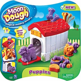 Spin Master Magical Molding Moon Dough Puppies