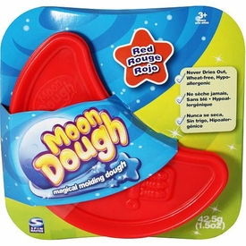 Spin Master Magical Molding Moon Dough Red