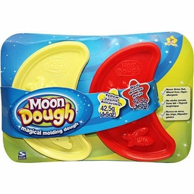Spin Master Magical Molding Moon Dough 2-Pack Yellow & Red