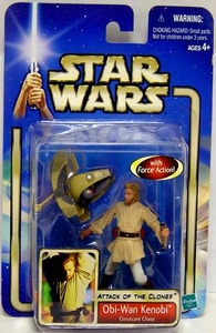 Star Wars Saga 2002 Collection 1 Attack of the Clones #03 Obi-Wan Kenobi [Coruscant Chase]