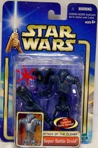 Star Wars Saga 2002 Collection 1 Attack of the Clones #06 Super Battle Droid