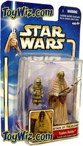 Star Wars Saga 2002 Collection 2 Attack of the Clones #08 Tusken Raider [Female With Child]