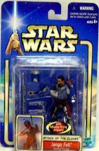 Star Wars Saga 2002 Attack of The Clones Jango Fett [Kamino Escape]