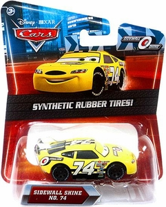 Disney / Pixar CARS Movie Exclusive 1:55 Die Cast Car with Synthetic Rubber Tires Sidewall Shine