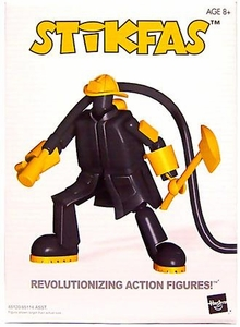 Stikfas Alpha Male Action Figure Kit #AFK 5 Firefighter