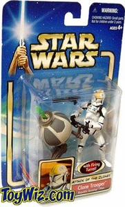 Star Wars Saga 2002 Attack of the Clones Clone Trooper Republic Gunship Pilot