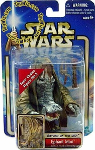 Star Wars Saga 2002 Return of the Jedi Ephant Mon Jabba's Head of Security