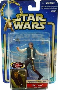Star Wars Saga 2002 Collection 1 Return of the Jedi #37 Han Solo [Endor Raid]