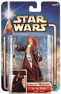 Star Wars Saga 2002 Attack of The Clones Jar Jar Binks [Gungan Senator]
