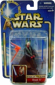 Star Wars Saga 2002 Attack of the Clones Shaak Ti Jedi Master