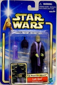 Star Wars Saga 2002 Collection 2 The Phantom Menace #51 Lott Dod [Neimoidian Senator]